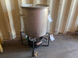 Propane Fryer & Pot
