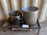 Duel Propane Fryer & Pot