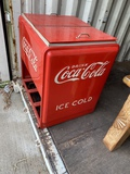 Vintage Coca Cola Ice Chest