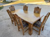 Southwest Dining Room Table & 6 Chairs