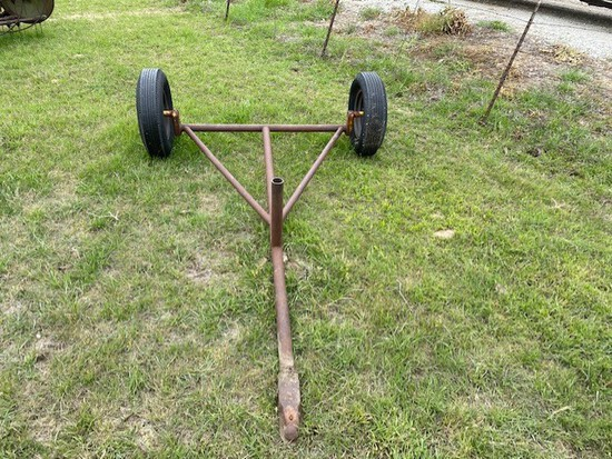 V Frame Tow Behind Axle