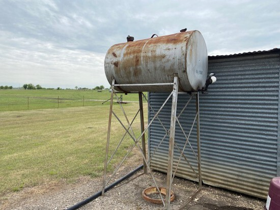 Gravity Flow Fuel Tank