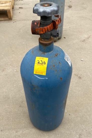 Carbon Dioxide / Argon Bottle