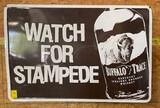 Buffalo Trace Whiskey Sign