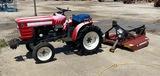 Yanmar 1510 Tractor with 4' Brush Hog