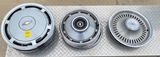 Set of 4 Hubcaps - Set of 4 Chevy, Set of 2 Oldsmobile, and Set of 4 Chevy