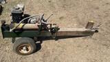 Hydraulic Log Splitter, runs like a top.