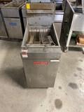 Vulcan Deep Fryer, LP Gas, 45#
