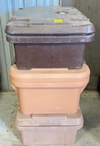 Lot of 3 Cambro Insulated Commercial Food Carriers - 3X Money
