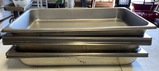 Lot of 11 Stainless Steel Chafing Pans - 11X Money