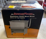 20 lb. Stainless Steel Meat Mixer