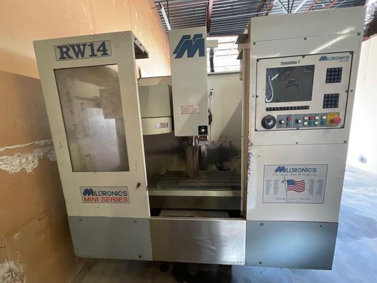 Milltronics RW 14 Three Axis CNC Machine with tool changer