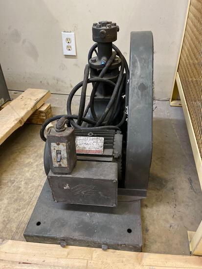 Three stage pressure pump