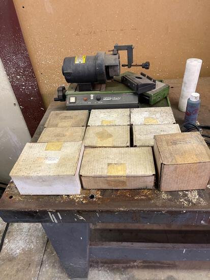 Drill Bit Sharpening Machine with Supplies