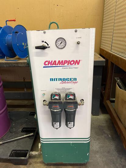 Champion Nitrogen advantage nitrogen generator