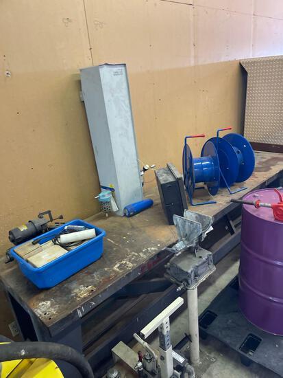 Steel Workbench 10 foot by 30 inch