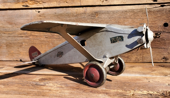 Steelcraft Toy Airplane