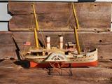 Tin Model Boat