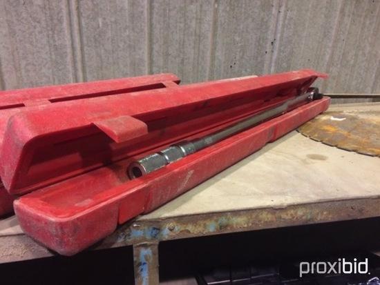 (1) Torque Wrench 3/4 proto