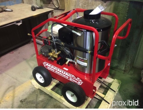 Magnum Gold 4000 Laveuse a pression / Pressure washer, gas engine 1 cyl. (N