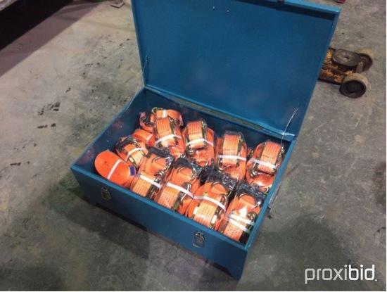 (Neuf/Unused) kit de (24) Ratchets tie down,(16) ratchets & straps  2'' x 2