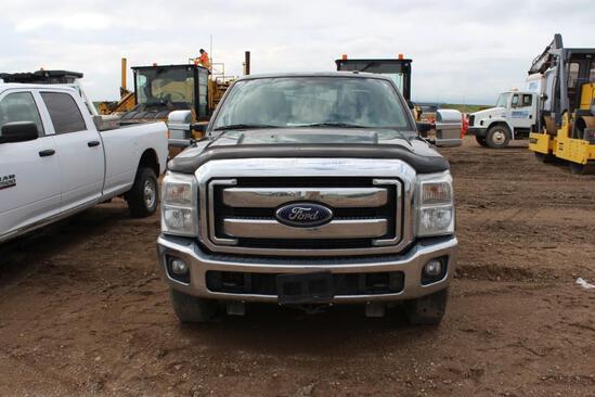 2012 Ford F250 XLT 4x4 ext cab, S/N: 1FT7X2B61CED01715, 201,422 KM, 7' box, V8 6,2L, AC, AM-FM, Tire