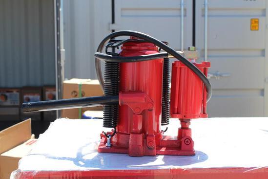 (NEW/UNUSED) POWERTEK 20 ton Air over Hydraulic Bottle Jack