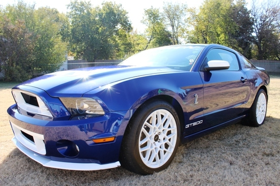 2013 Shelby Gt 500 W/Glass Roof/MRT