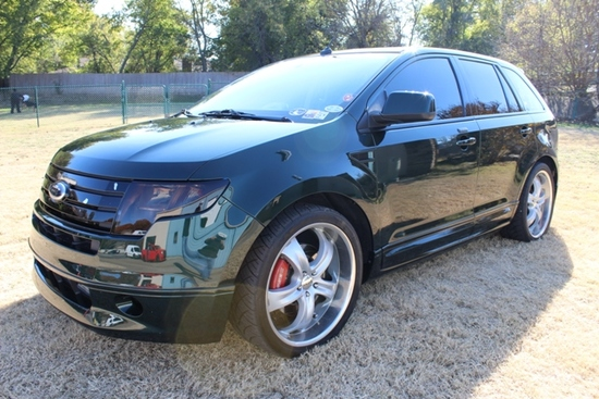 2008 Ford Edge Bullitt Green