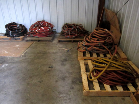 LOT - (5)PALLETS OF AIR HOSES