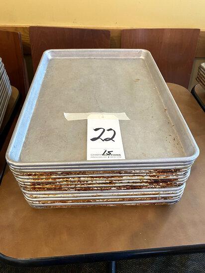 ALUMINUM HALF-SIZE SHEET CAKE PANS