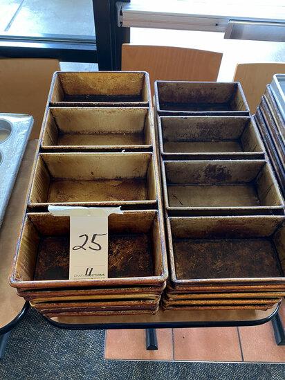 LOAF 4-SECTION PANS