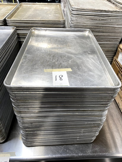 *EACH*WINCO ALUMINUM SHEET HEAVY-DUTY CAKE PANS