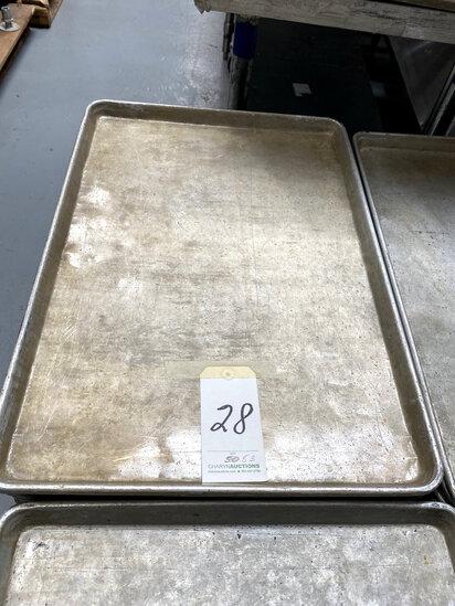 *EACH*ALUMINUM SHEET CAKE PANS