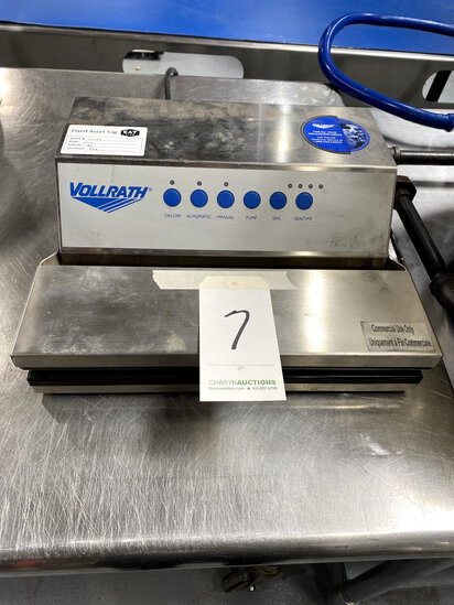 VOLLRATH S/S VACUUM SEALER MOD. JUNIOR