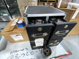 *LOT*VAULTZ 4-DRAWER STORAGE BOX W/LABEL ROLLS