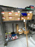 *LOT*ASST CLEANING SUPPLIES (IN/ON CAGE)