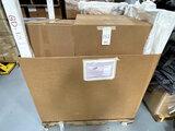 NEW ROSSETO WHITE GONDOLA RACK SYSTEM (IN BOX-UNASSEMBLED)