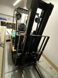 KOMATSU ELECTRIC FORKLIFT W/SOLID TIRES, 42