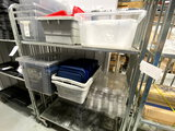 *LOT*PLASTIC ASST FOOD CONTAINERS W/LIDS
