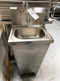 ALL STRONG SLL S/S FLOOR HAND SINK MOD. S1B1310-D-C