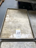 *EACH*ALUMINUM SHEET CAKE PANS