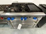 MONTAGUE GRIZZLY S/S 4-BURNER 36