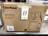 NEW CYBER POWER BATTERY BACK-UP W/SURGE PROTECTION MOD. CP1350AVRLCD (IN BOX)