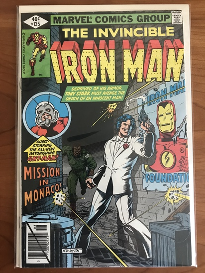 Iron Man Comics & More Marvel/DC Comics Auction