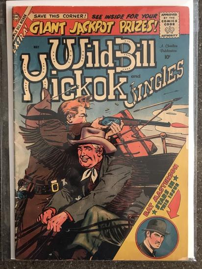 Wild Bill Hickok and Jingles Comic #72 Charlton Comics 1959 SILVER Age 10 cent