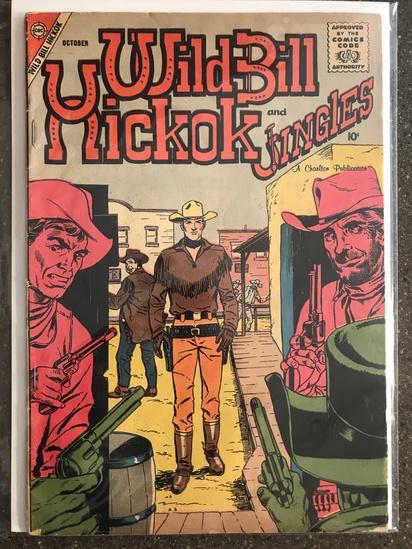 Wild Bill Hickok and Jingles Comic #69 Charlton Comics 1958 SILVER Age 10 cent