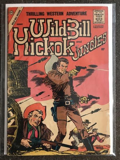Wild Bill Hickok and Jingles Comic #68 Charlton Comics 1958 SILVER Age 10 cent