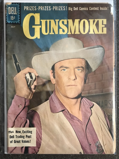 Gunsmoke Comic #27 Dell Comics 1961 SILVER Age 15 cent KEY Final Issue.