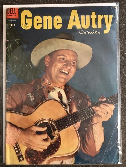 Gene Autry Comics #93 Dell Comics 1954 GOLDEN Age 10 cent